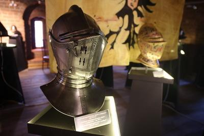 In Lida castle opened a unique exhibition of medieval armor