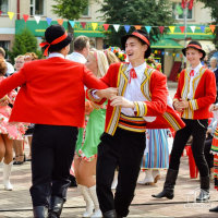 Regional festival of folk art «Friendly festival»