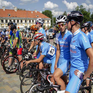 "International multiday bicycle race ""Neman"" through the route Bialystok (Poland) - Grodno (Belarus)"