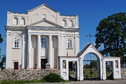 Catholic church of St. Cosmas and Damian