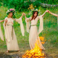 """Kupala Night"" at the recreation center ""Prival"""