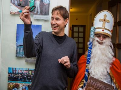 How a tourist from Lithuania, Algerdos Dambrava visited Grodno on Christmas Eve