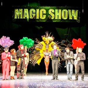 "VI International Festival of Magicians ""Magic show"""