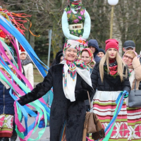 The regional celebration «Maslenitsa» (Zelva, the central square)