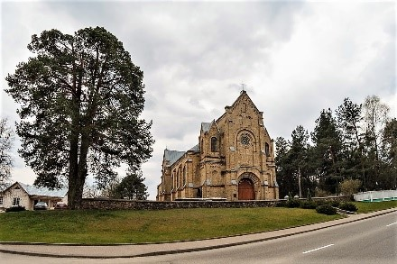 Catholic church of the Ascension of the Holy Cross
