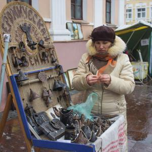 "Trade Fairs of craftsmen and artists of amateur association ""Garadzenskі Kalaryt"" ""Grodno city center of culture"""