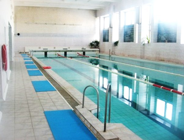 Swimming pool, Smorgon Polytechnic Lyceum