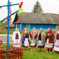 "Demonstration of the intangible cultural heritage - the rite ""Yurye"""