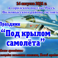 "Holiday ""Under the wing of an airplane"" dedicated to the Aviation Day"