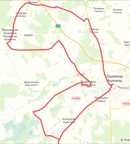 MAGNATSKY route